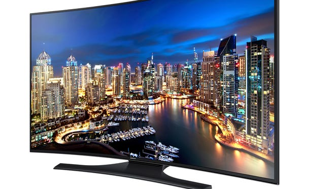 The Samsung HU7250 was one of six new 4K TVs unveiled this week.