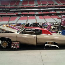 Pati Castaneda of Superior will show her 1969 Chevrolet Impala lowrider at the Superior Car Show and Fiestas.