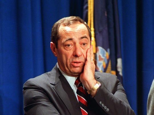 Former New York Gov. Mario Cuomo