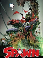 "Former ""Spawn"" artist Greg Capullo drew and creator"