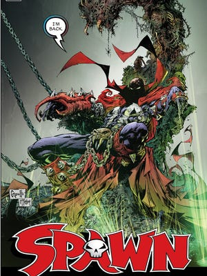 "Former ""Spawn"" artist Greg Capullo drew and creator Todd McFarlane inked a special anniversary cover for the 250th issue of the series."