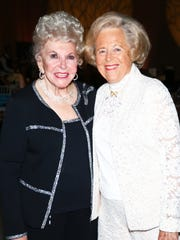 Founding members JoAnn Davis and Sally St. John