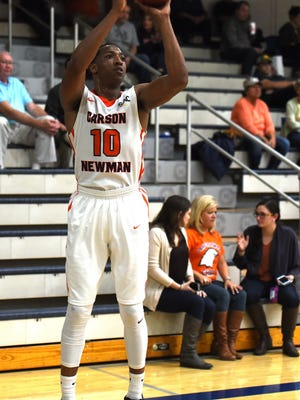 Former Siegel standout Charles Clark has garnered national attention for his high-scoring triple-doubles at Carson-Newman recently.