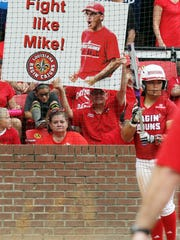 The Ragin' Cajun fans clearly displayed their team's motivation during NCAA Regional play last weekend at Lamson Park.