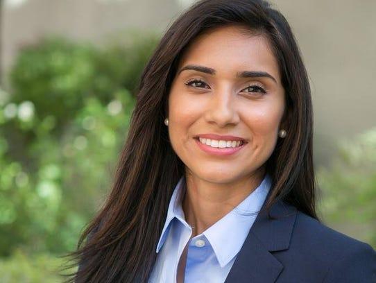Sabrina Cervantes, who was born and raised in Coachella
