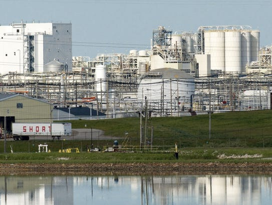 This May 28, 2008 file photo shows the Dow Chemical