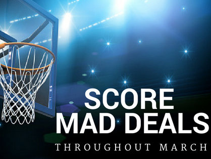 Throughout March, we'll offer Insiders bonus deals, events and extras
