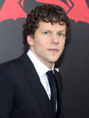 "Jesse Eisenberg attends the premiere of ""Batman v Superman: Dawn of Justice"" at Radio City Music Hall on Sunday, March, 20, 2016, in New York."