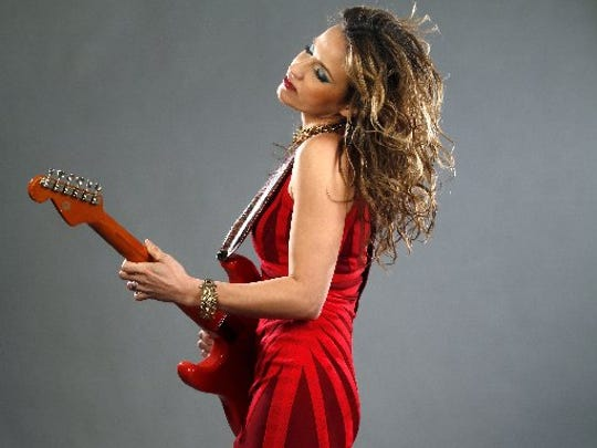 Serbian blues guitarist Ana Popovic performs at 7 p.m. April 6 at the The Lyric Theatre in Stuart.