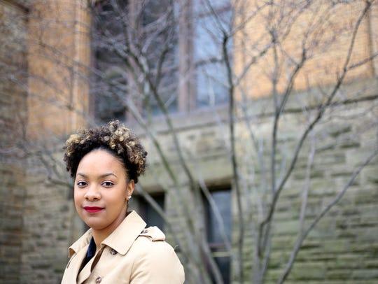 Janelle Greene, 23, of Detroit is a public relations