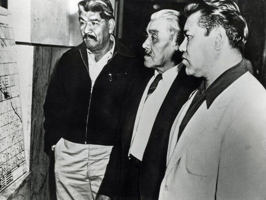 Clemente Segundo, John Joseph Andreas and Anthony Andreas
