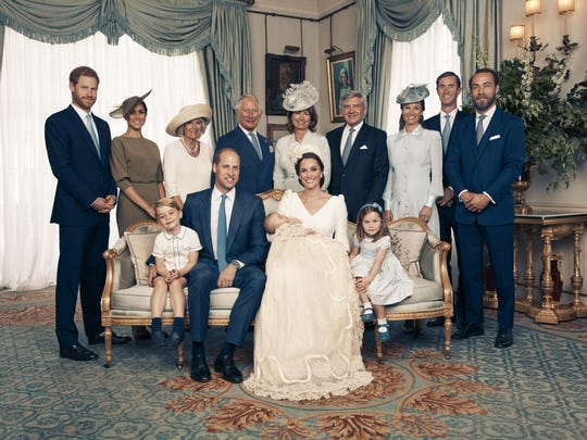 Prince Louis Of Cambridge - Official Christening Photographs