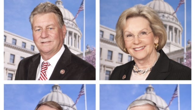 Incumbent Reps. Gene Alday, Wanda Jennings, Pat Nelson and Eugene Forrest Hamilton were each defeated in Tuesday night's primary election.