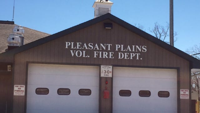 The Pleasant Plains Volunteer Fire Co. Pleasant Plains, a rural, farming community in Toms River, has seen lots of development in the past 30 to 40 years.