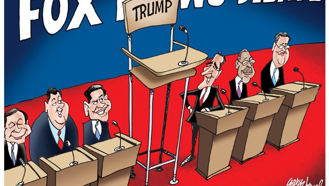 Donald Trump decides not to appear at the Fox News Debate.