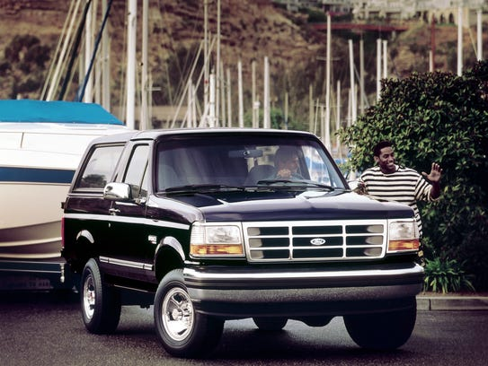 1994 Ford Bronco XLT.