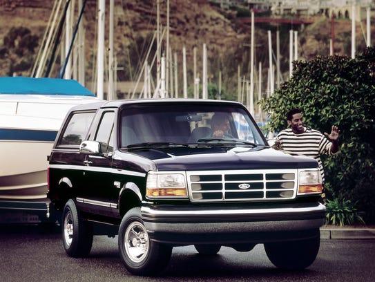 1994 Ford Bronco XLT.