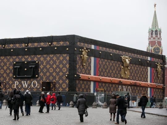 Vuitton Red Square