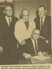 This newspaper photo from 1967 shows Wicomico County
