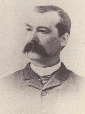 Arizona Rangers captain Burton C. Mossman in 1901 or 1902.
