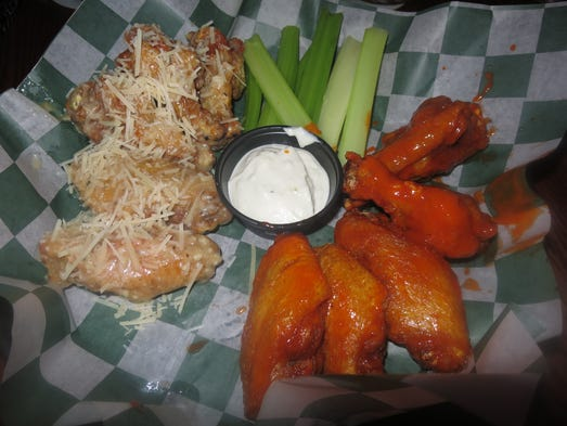 Bar Bill is famous for its wing variations, including