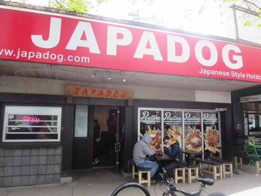 Japadog is a compelling concept, with flavor combinations