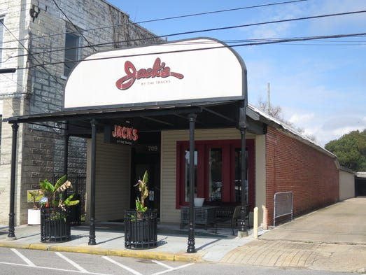 Jack's by the Tracks occupies an original nearly century-old