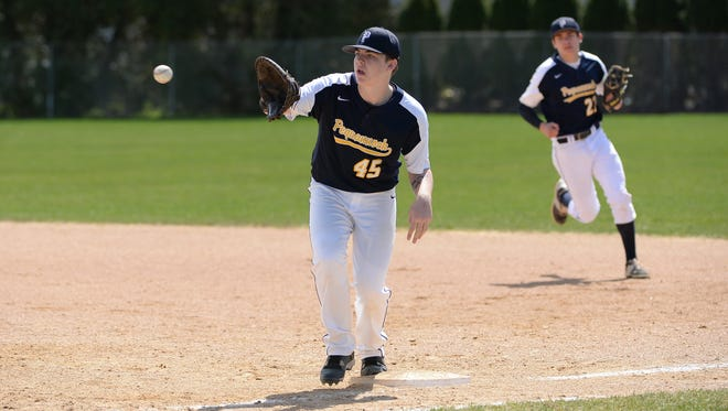 Tom Trainor and the Pequannock baseball team defeated rivals Kinnelon twice in two days, including last Saturday's 5-1 win in the preliminary round of the Morris County Tournament.