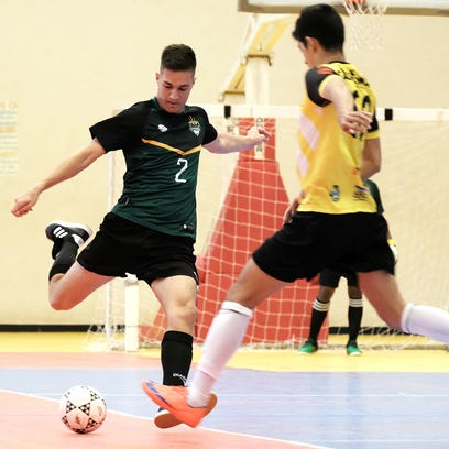 Rovers edge out Tritons in futsal league match