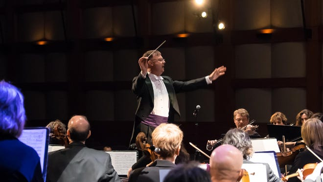 New Jersey Festival Orchestra performs under the baton of David Wroe.
