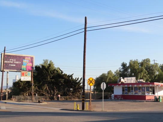 B & J Drive-In is at Nardo Street and Los Angeles Avenue