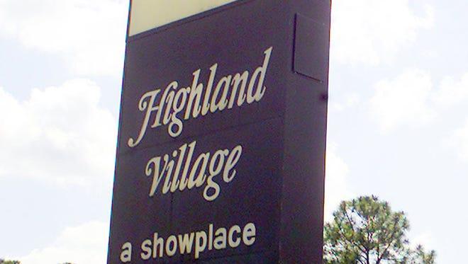 Highland Village shopping center