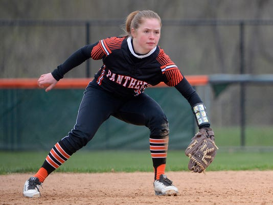 Central Panthers host Northeaster for softball