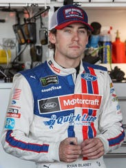 Ryan Blaney will join Brad Keselowski and Joey Logano