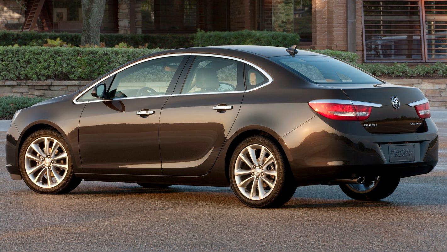 GM killing off its trusty Buick Verano compact car