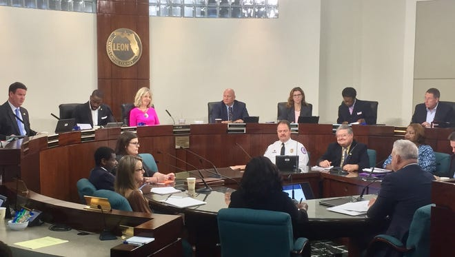 File art: Leon County commissioners discuss their tentative $253.6 million budget for FY 2018.