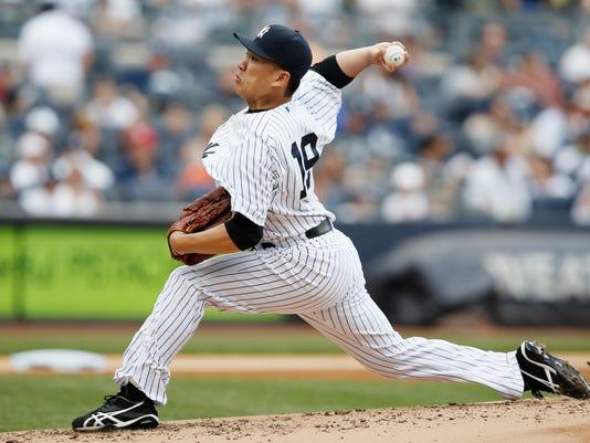 Yankees Masahiro Tanaka vs. Orioles 2014