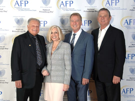 (left to right) Presenting Sponsor & Honorary Chair