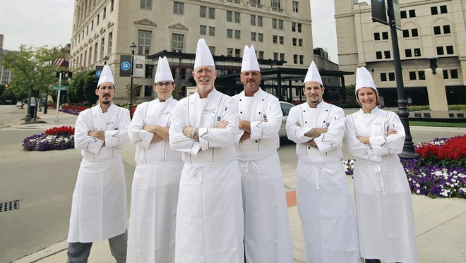 Executive Chef Kevin Brennan and a team of chefs will cook next Friday at New York's James Beard House.