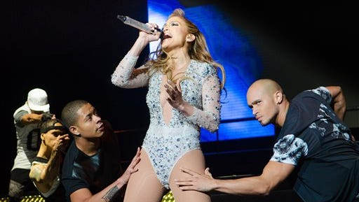 In this file photo, Jennifer Lopez performs at 103.5 KTU's KTUphoria at IZOD Center in East Rutherford, NJ.