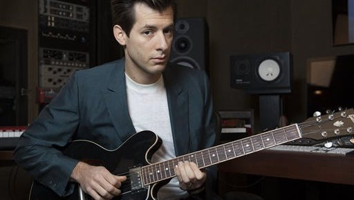 In this photo, Mark Ronson poses for a photo at Jeff Bhasker Studio, in Venice, Calif. Ronson has multiple Grammy Awards and the current No. 1 song in the U.S. and U.K.