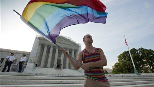 A judge in Huntsville allowed two women to legally end their marriage Thursday, a year after refusing their request.