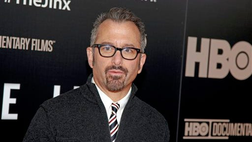 "Andrew Jarecki, director of ""The Jinx: The Life and Deaths of Robert Durst,"" attends the premiere of his HBO documentary series on Jan. 28, 2015, in New York City. Robert Durst, a wealthy eccentric linked to two killings and his wife's disappearance, was arrested in New Orleans on Saturday, March 14, 2015, in the 2000 murder of Susan Berman just before Sunday's finale, in which he says, "" What the hell did I do? Killed them all, of course."""