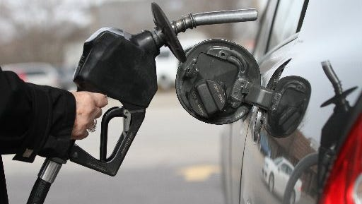 Experts say you should resist the urge to put a little more gas to an already full tank.