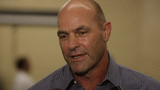 Kirk Gibson is back in the booth for Fox Sports Detroit.