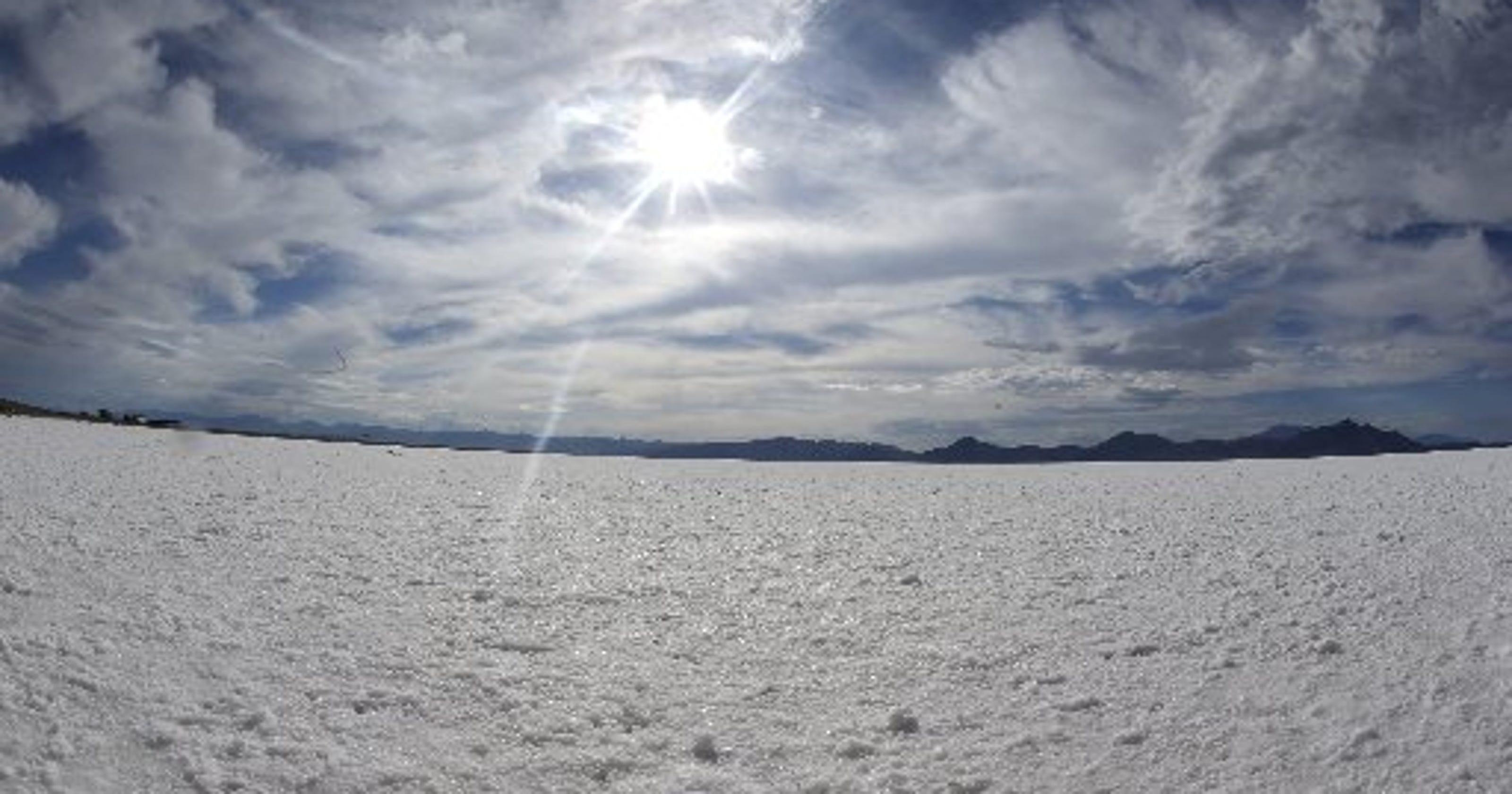 Are Utah's Salt Flats shrinking?