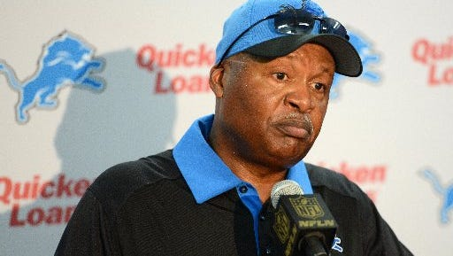 Detroit Lions coach Jim Caldwell ponders questions about the opening loss.