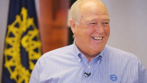 UAW President Dennis Williams will have a decision to make if the union's tentative agreement at Fiat Chrysler is rejected.