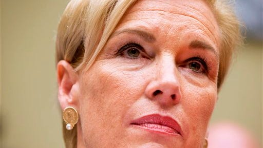 """Planned Parenthood Federation of America President Cecile Richards listens to a question while testifying on Capitol Hill in Washington, Tuesday, Sept. 29, 2015, before the House Oversight and Government Reform Committee hearing on """"Planned Parenthood's Taxpayer Funding.""""  (AP Photo/Jacquelyn Martin)"""