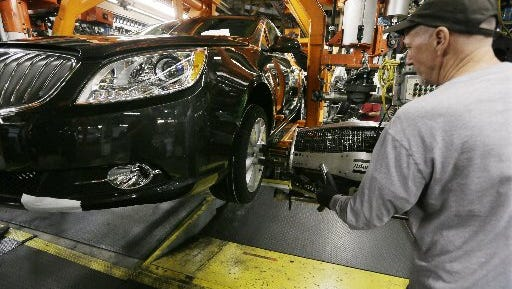 General Motors will end the second shift in January at its Lake Orion assembly plant.